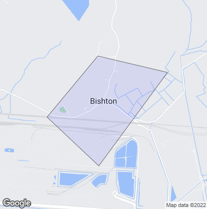 Map of property in Bishton