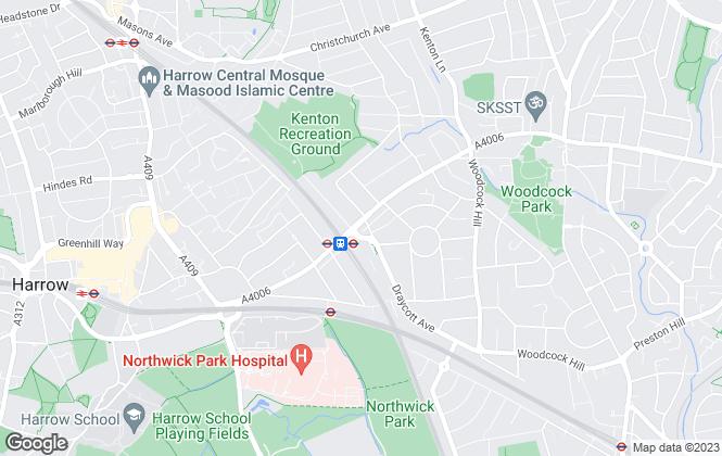 Map for Chase Macmillan, Harrow