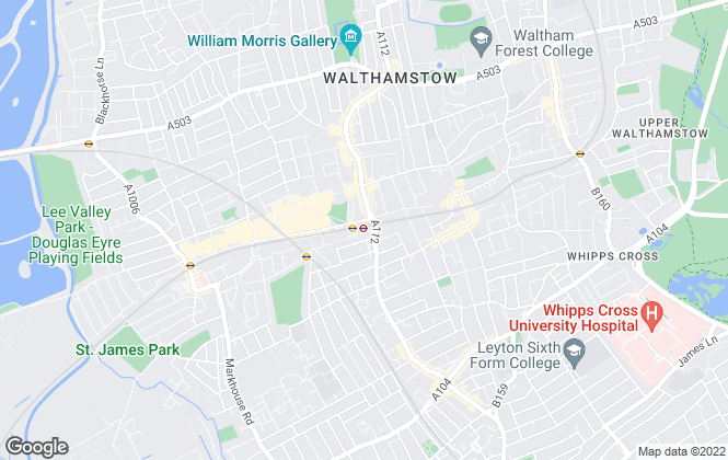 Map for Wonderlease Ltd, London