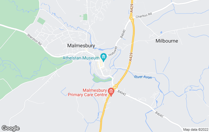 Map for Henry George, Malmesbury