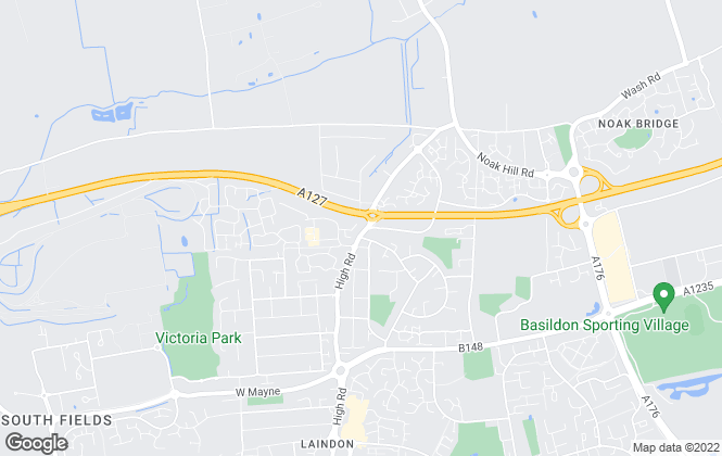 Map for Fine & Country, Laindon