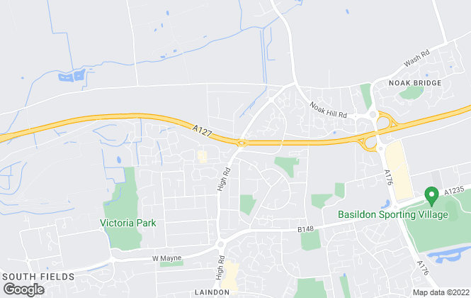 Map for Hilbery Chaplin Residential, Laindon - Lettings
