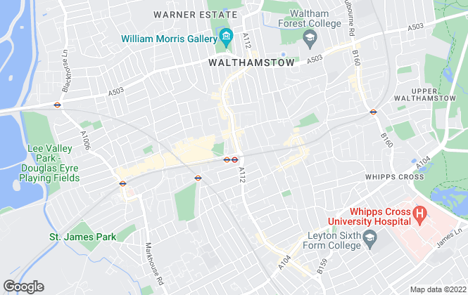 Map for Sincere Property Services, Walthamstow