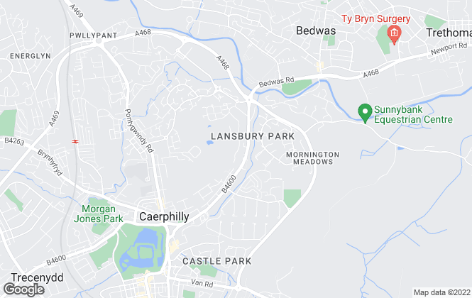 Map for Mel John Estate Agent, Caerphilly