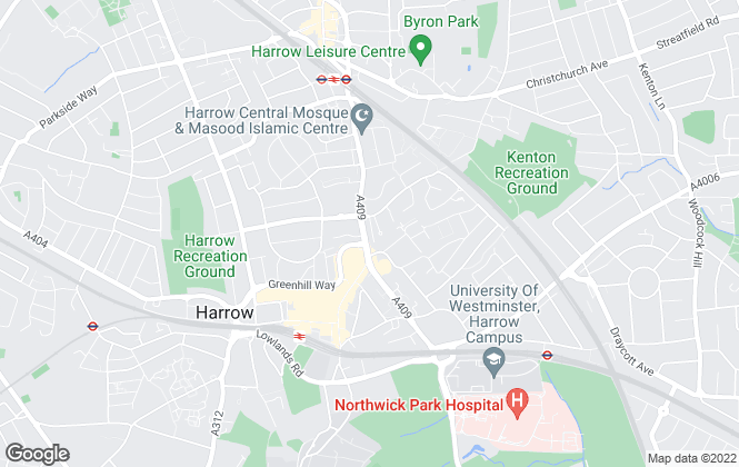 Map for Connells, Harrow