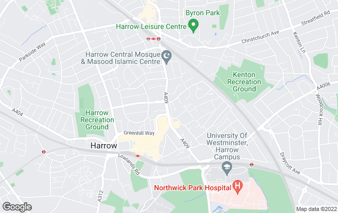 Map for Winkworth, Harrow