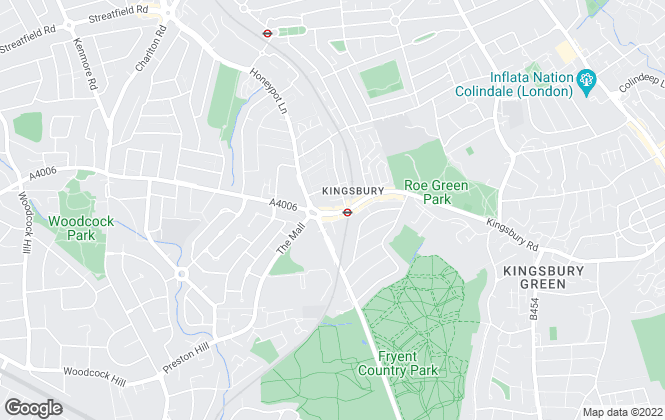 Map for Bairstow Eves, Kingsbury