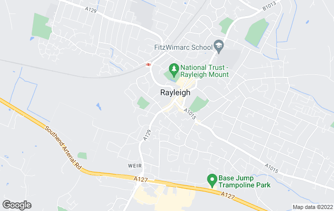 Map for Aspire Estate Agents, Rayleigh