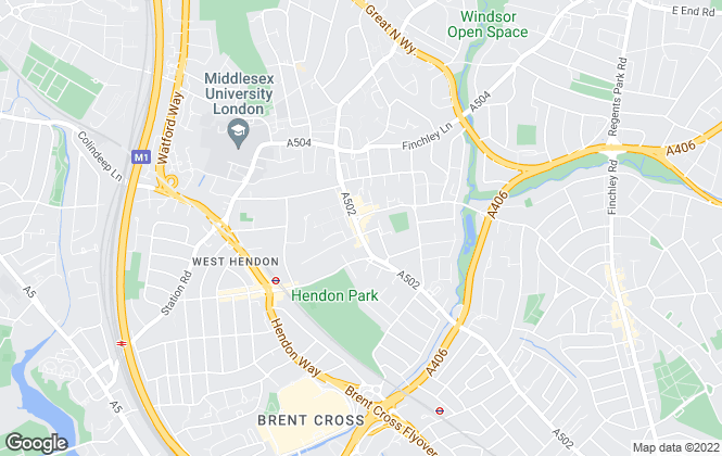 Map for Bairstow Eves Lettings, Hendon