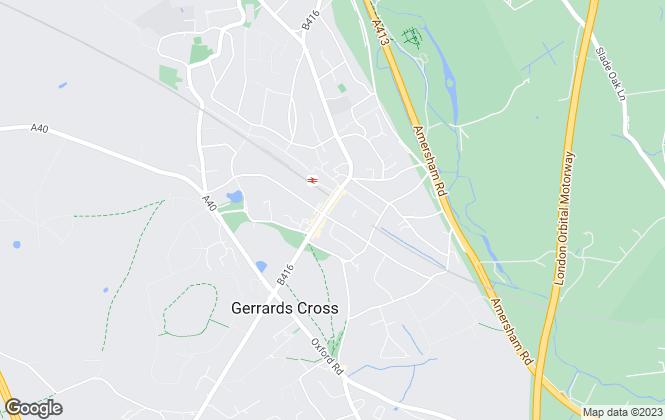 Map for Open Online Agents, Gerrards Cross