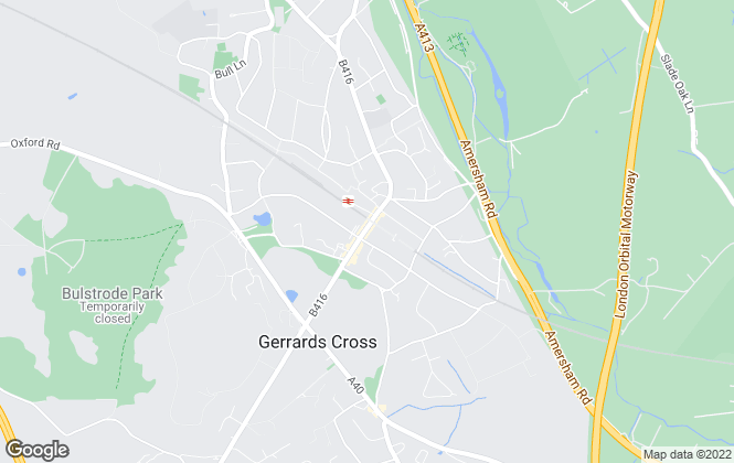 Map for The Frost Partnership, Gerrards Cross