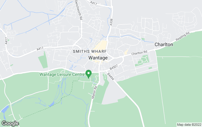 Map for Paul Pieri, Wantage