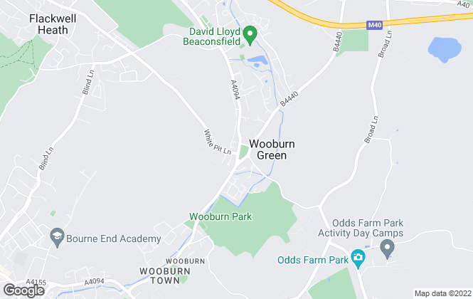 Map for Crendon House Estate Agents, Wooburn Green