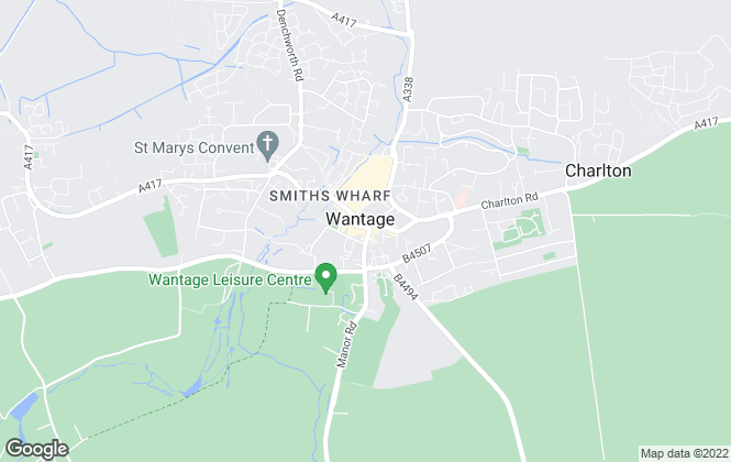Map for Hodsons, Wantage