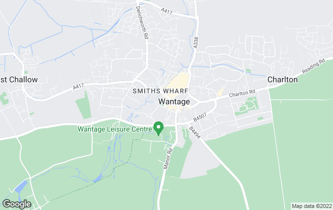 Map for Douglas and Simmons Estate Agents, Wantage - Lettings