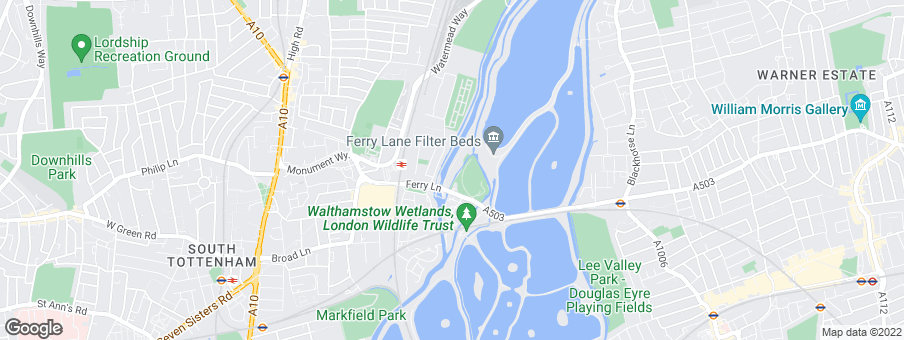 Map for Waterside Places