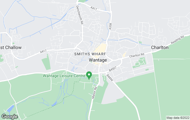 Map for Davis Tate, Wantage