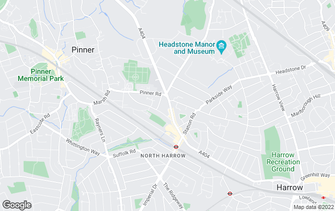 Map for Mayfords Estate Agent, Middlesex