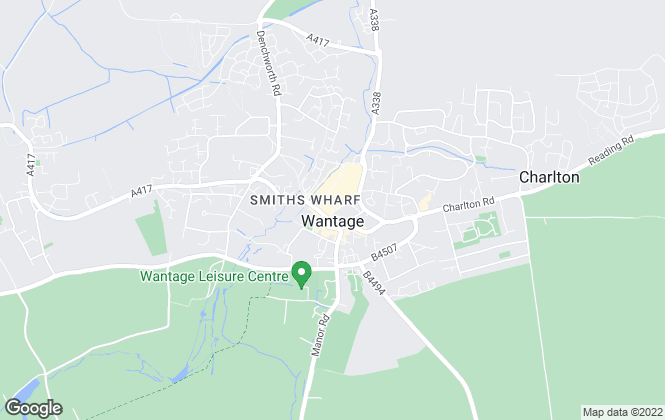 Map for Fitz Homes, Wantage