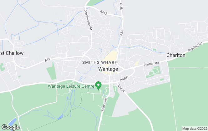 Map for Butler Sherborn, Wantage