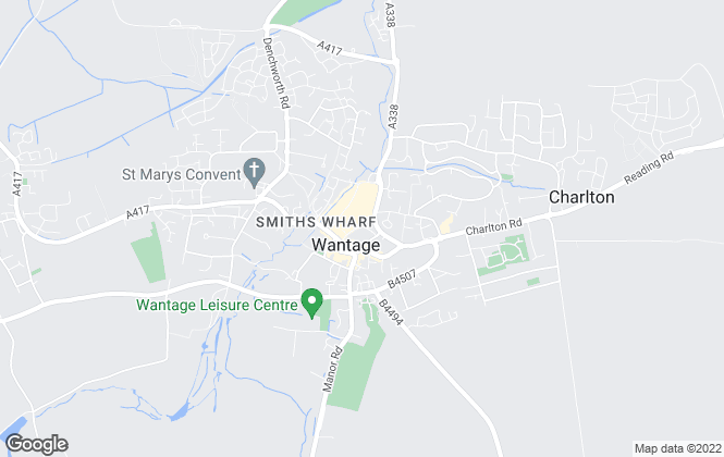 Map for Abbey Group Property Management, Wantage