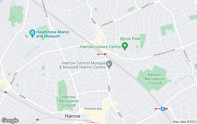 Map for Smart Lettings, Harrow