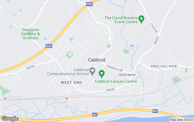 Map for Nathan James Estate Agents, Caldicot