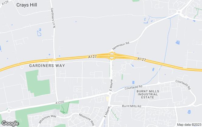 Map for Kemsley LLP, Basildon