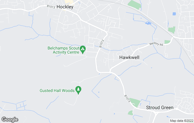 Map for oakleighblue.co.uk, Hockley, Essex