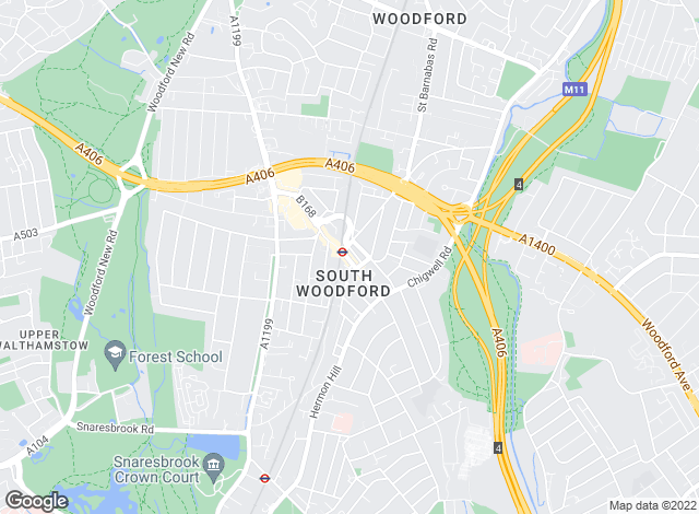 Map for Luxe Residential, South Woodford