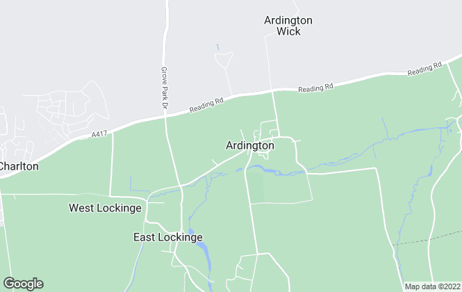 Map for Adkin, Ardington