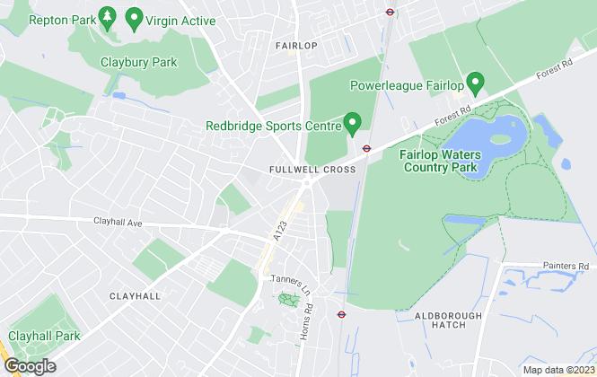Map for Citi Livings Ltd , Barkingside