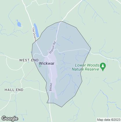 Map of property in Wickwar