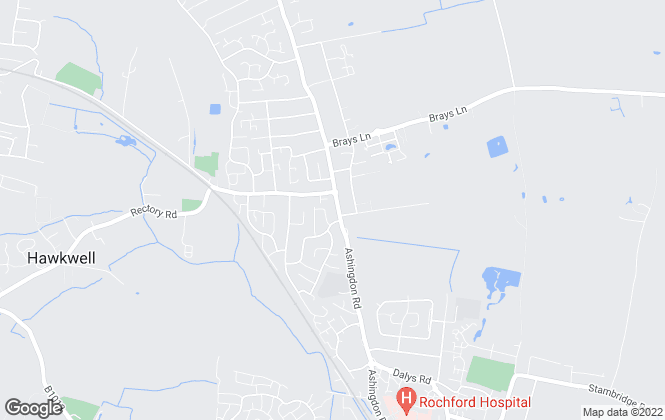 Map for Fox Property Group, Rochford