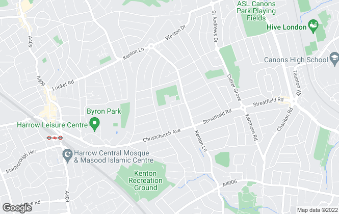 Map for  AG Estate Agents, London
