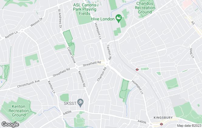 Map for Burgoyne, Johnston Evans, Kenton