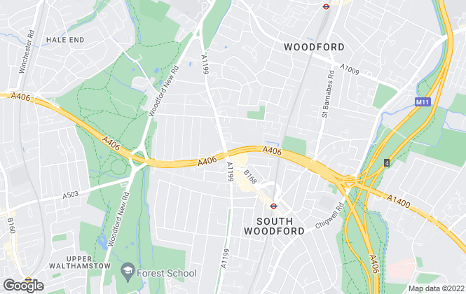 Map for Hayden & Harper, South Woodford
