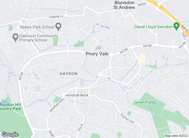 Map for Taylors Estate Agents, Swindon North