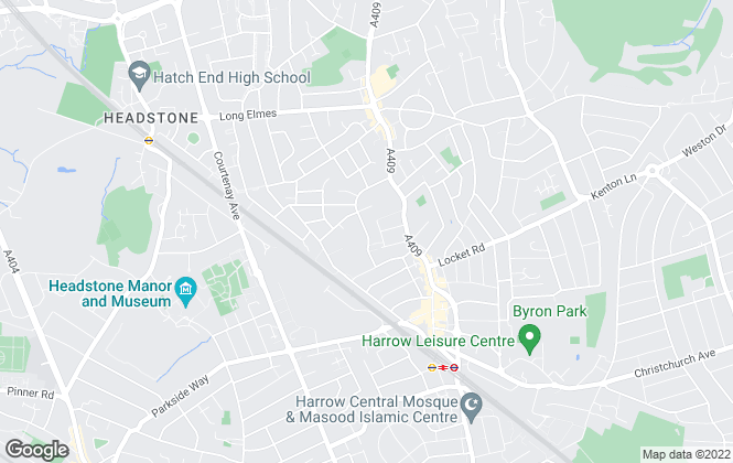 Map for Anderson, Brown & Clarke, Harrow