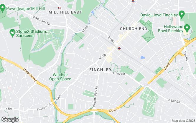 Map for Easy Lettings Ltd , London
