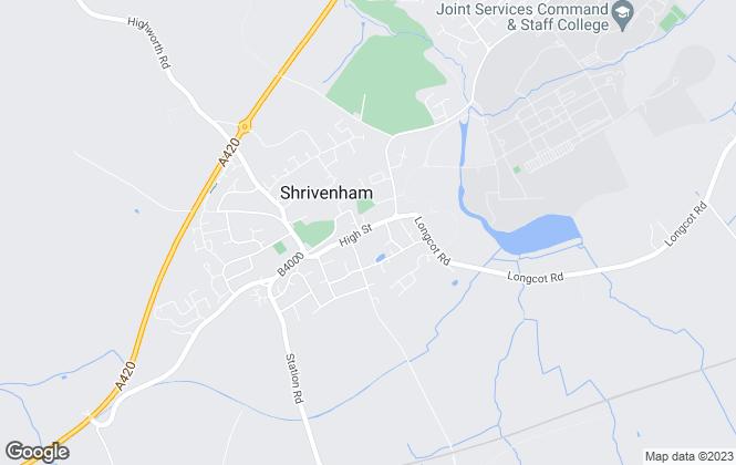 Map for Kidson Trigg, Shrivenham