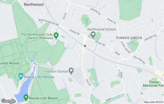 Map for Brit Bricks Ltd, Northwood