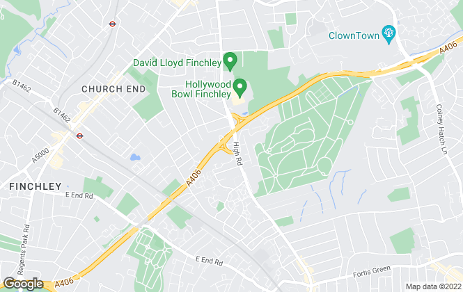 Map for Big Yellow Self Storage Co Ltd, Big Yellow Finchley East