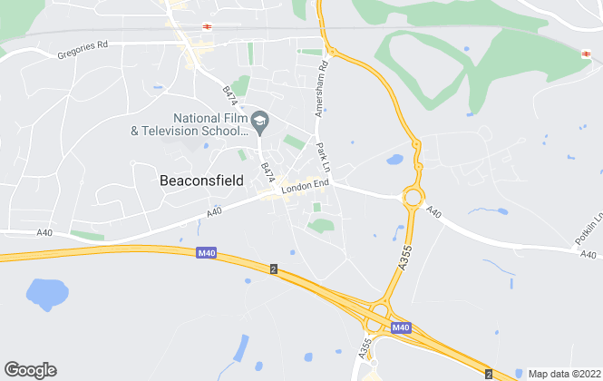 Map for Winkworth, Beaconsfield