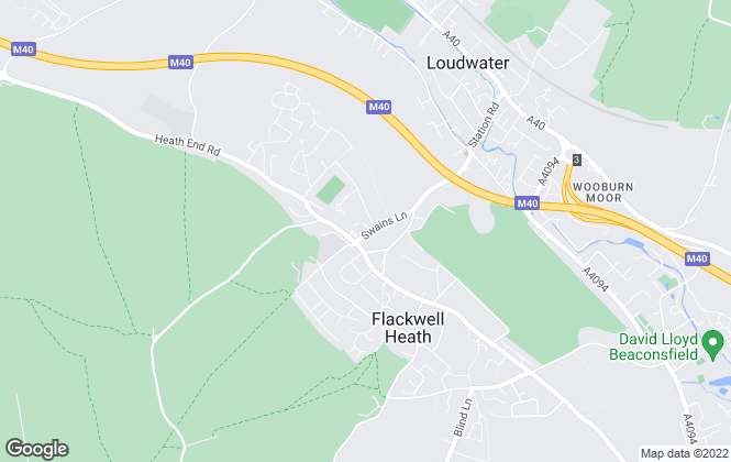 Map for Robertsons Estate Agents, Flackwell Heath