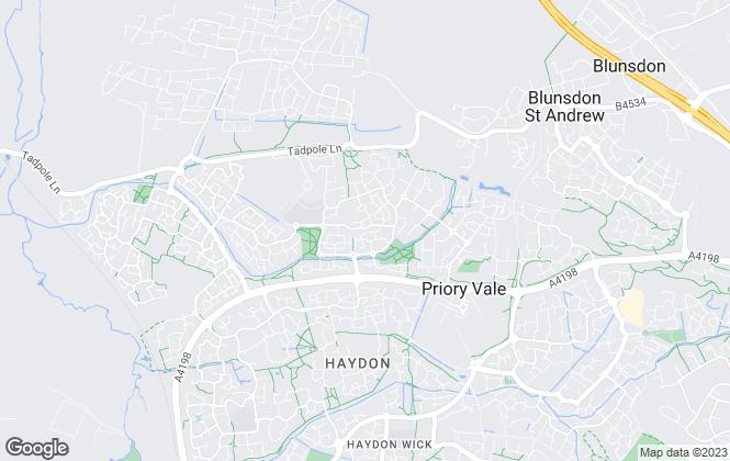 Map for Strakers, Swindon