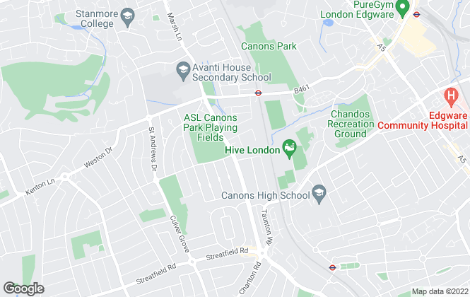Map for LETSiNVEST, Stanmore
