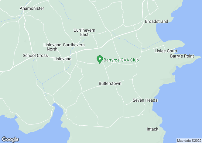 Map for Butlerstown, Co Cork