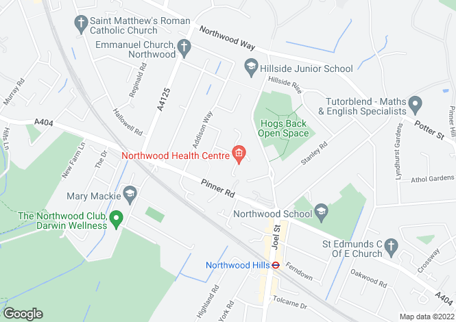 Map for Juniper Court, Neal Close,