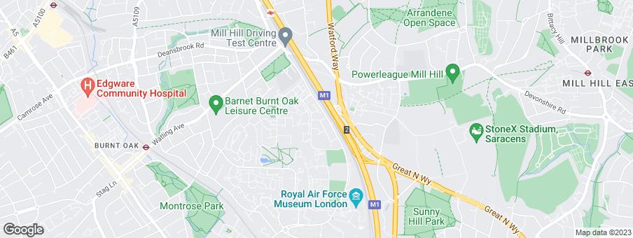 Map for Barratt London